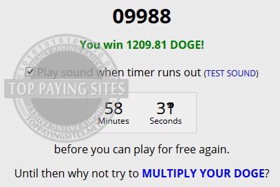 1209 free doge coin