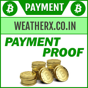 Weatherx payment proof ( 12216 )