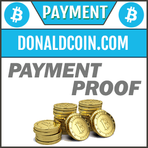 Donaldcoin.com review payment proof