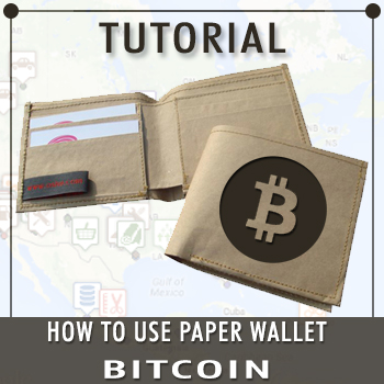 how to use paper wallet bitcoin