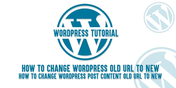 How to change old attachment url to new url in wordpress post