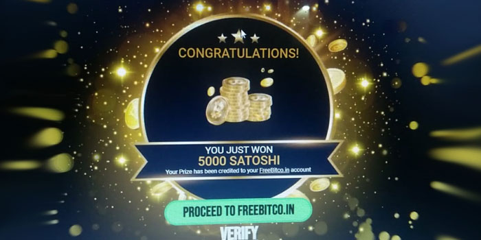 Wheel of Fortune ( Free Daily Spin ) From Freebitco.in