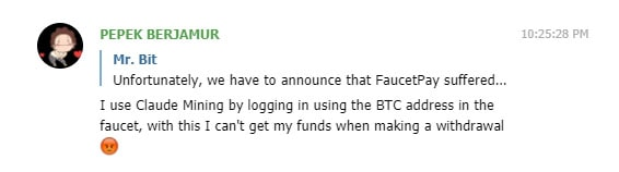 faucetpay.io hacked problem