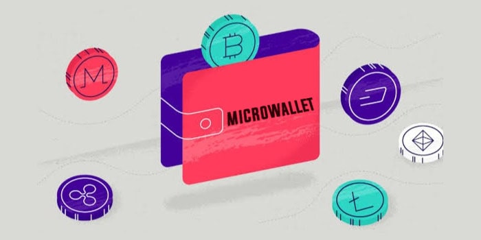 How microwallet for crypto currencies works ?